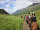 Lyngshestlandets ridetur under Riddu gikk fra setra i vakre Manndalen